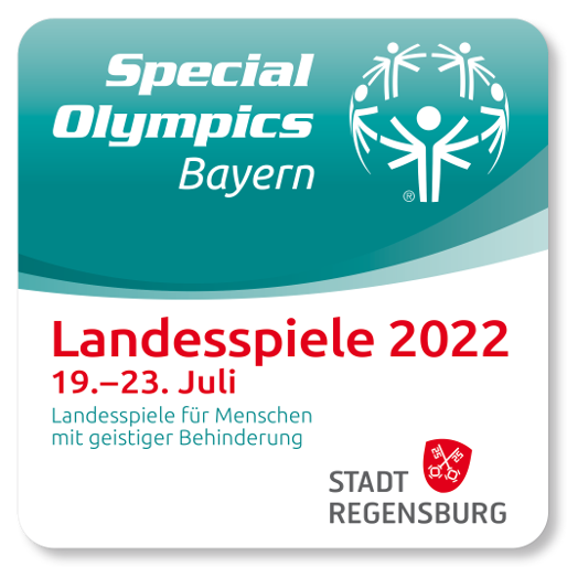 Banner Special Olympics Special Olympics Landesspiele Bayern 2022 Regensburg