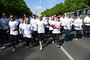 Special Olympics Fackellauf in Berlin (Foto: SOD/Juri Reetz)
